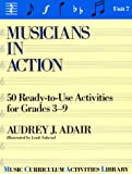 Musicians in Action, Audrey J. Adair-Hauser, 0136071449