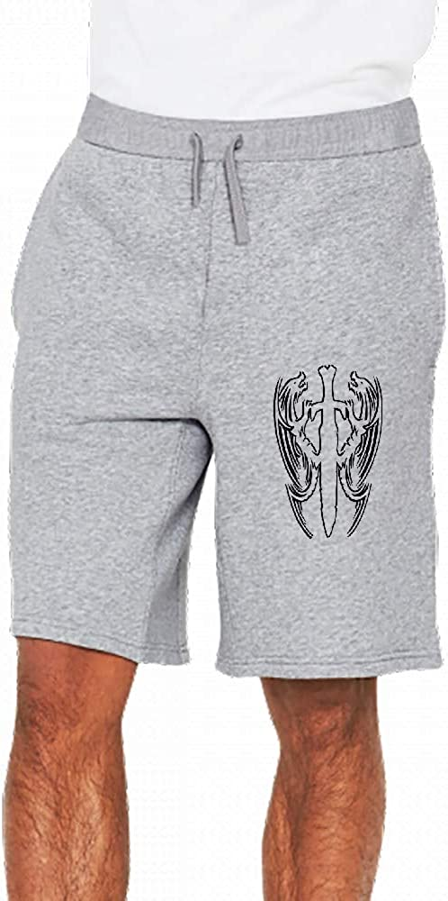 Double Dragon Chinois Mens Casual Short Trouser