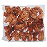 Tyson Fully Cooked Skinless Chicken Thigh Portion, 10 Pound -- 1 each.