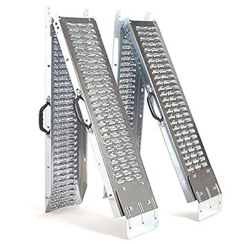 Idmarket – Set de 2 rampas plegables galvanizadas especiales ...