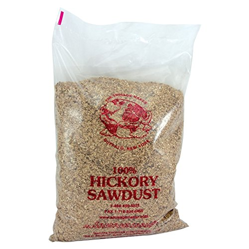 The Sausage Maker - Hickory Sawdust for Smokers, 5 lbs. Bag by The Sausage Maker