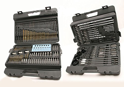 Buy cheap 204 pcs combination drill bit set drilling power tools electric cordless drills