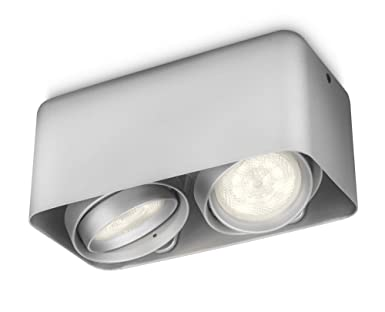 Philips myLiving Afzelia - Foco de techo, LED, 2 luces ...