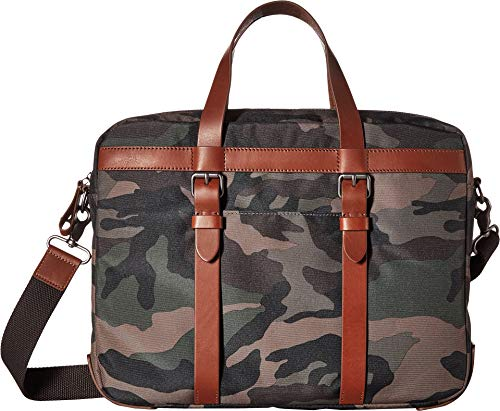 Fossil Men's Haskell Ew Utility Brief Briefcase Multi One Size