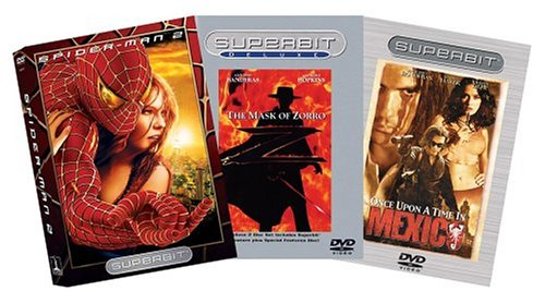 Action Romance Superbit 3-Pack (Spider-Man 2 / The Mask of Zorro / Once Upon a Time in Mexico) - Amazon.com Exclusive