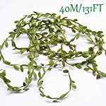 Artificial-Vines-131Ft-Artificial-Plants-Leaves-Decor-Garland-Fake-Hanging-Silk-Ivy-Garlands-Green-Leaves-Foliage-Flowers-Ribbon-Wreath-for-Wedding-Party-Wall-Crafts-Party-Indoor-Outdoor-DIY-Decor