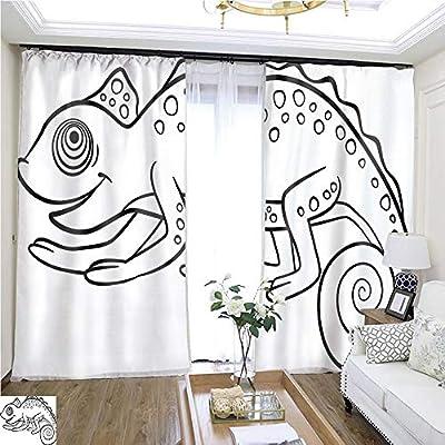 Rollup - Cortinas para ventana con diseño de animales salvajes (72 ...