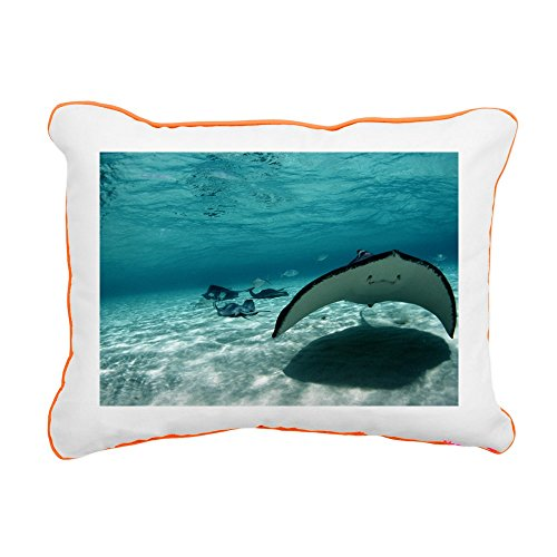 (CafePress - Southern Stingray - Pillow - 12