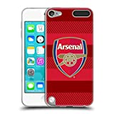 Official Arsenal FC Training Red 2016/17 Crest Soft Gel Case for Apple iPod Touch 5G 5th Gen