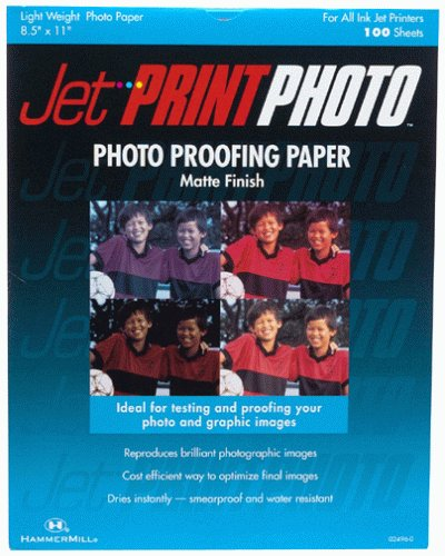 (Jet Print Photo Matte Finish Photo Proofing Paper)