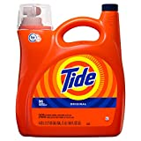 Tide High Efficiency Turbo Clean Liquid Laundry Detergent, Original Scent, 4.43 L (96 Loads)