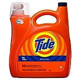 Tide High Efficiency Turbo Clean Liquid Laundry Detergent, Original Scent, 4.43 L (96 Loads)