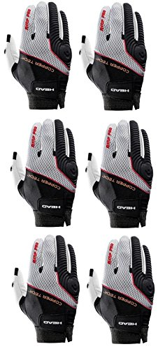 HEAD Six (6) AMP Pro Copper Tech Racquetball Glove Right Large