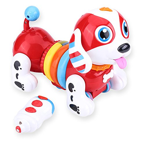 New Mannequin Digital Pet Canine for Child, Robotic Interactive Pet Canine Toy Singing Dancing  Opinions