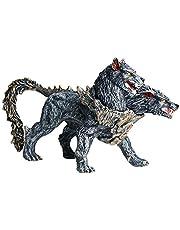 JOKFEICE Hellhound-beeldjes, realistische dierenfiguren, wetenschapsproject, taarttopper, vroeg educatief speelgoed, kerstcadeau voor peuters, kinderen van 3 tot 5 jaar