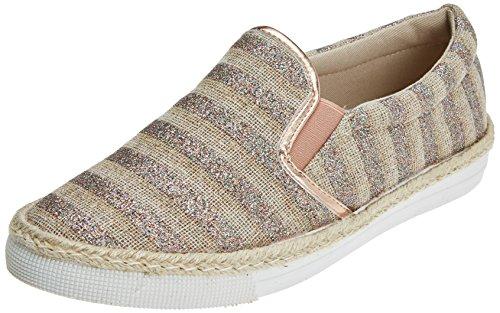 Refresh Damen 64408 Slip On Sneaker Gold (Oro)
