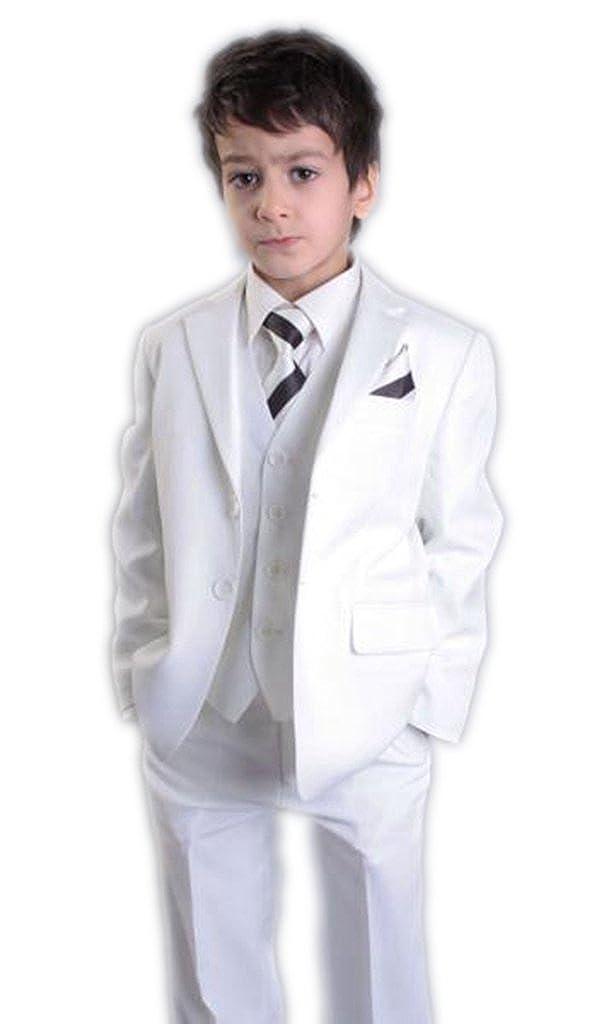 MLT Boys 3-pieces Fit Notch Lapel Wedding Suits