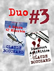 Duo # 3 - 6 Hours 42 Minutes/ Discreet Activities (VIGILANTE Series - Duo versions) (English Edition)