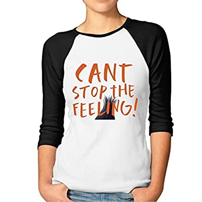 Can't Stop The Feeling Justin Timberlake Baseball Style RetroFashion Half Sleeve Tshirt