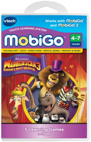 VTech MobiGo Software Cartridge - Madagascar 3 -