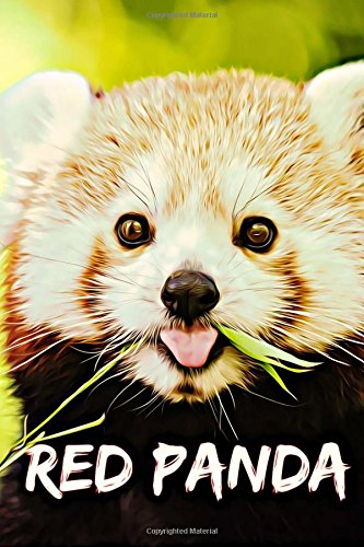 Red Panda: Animal Notebook for Kids, Notebook for Coloring Drawing and Writing (110 Pages, Blank, 6 x 9) (Animal Notebooks) for $<!--$4.79-->