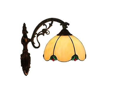 Lampade da parete stile tiffany lamp vintage mini luce a muro