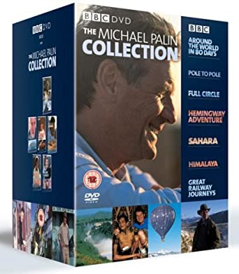 The Michael Palin Collection Complete 16 Disc Box Set Dvd