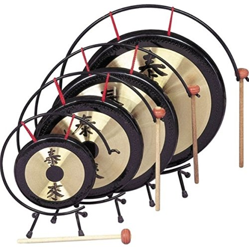 Rhythm Band Oriental Table Gongs 10 in. Gong Rb1071 by Rhythm Band