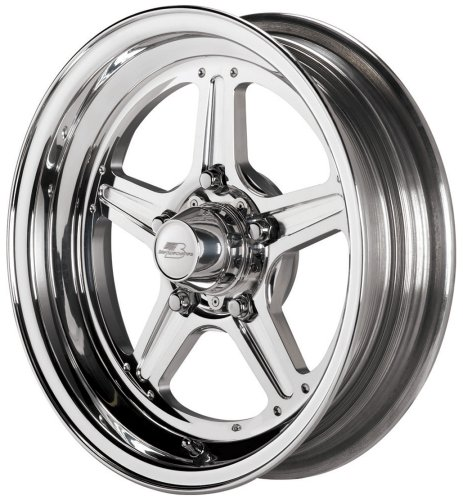 Billet Specialties Street Lite Polished - 15 x 3.5 Inch Wheel by Billet Specialties