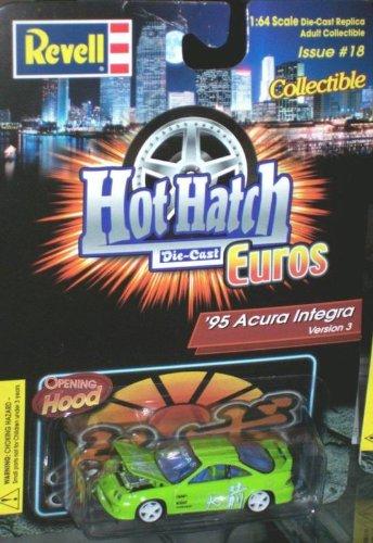 REVELL HOT HATCH EUROS GREEN 95 ACURA INTEGRA
