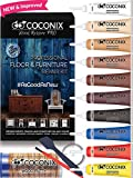 wood and laminate repair kit - Coconix Floor and Furniture Repair Kit - Restorer of Your Wooden Table, Cabinet, Veneer, Door and Nightstand - Super Easy Instructions Matches Any Color - Restore Any Wood, Cherry, Walnut, Hardwood