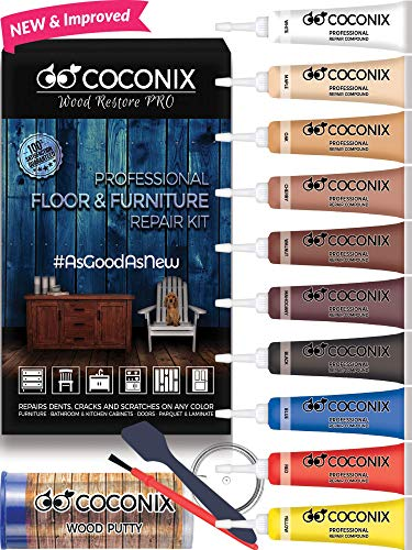 Remarkable Coconix Floor And Furniture Repair Kit Restorer Of Your Wooden Table Cabinet Veneer Door And Nightstand Super Easy Instructions Matches Any Download Free Architecture Designs Barepgrimeyleaguecom
