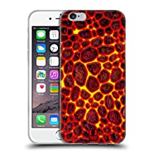 Head Case Designs Fire Red Dragon Scales Soft Gel Case for Apple iPhone 5 iPhone 5s iPhone SE