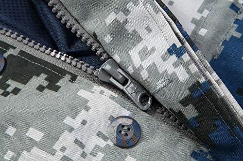 Ispessimento A Uomo Giacca Battercake Ntel Baggy Outwear Vento Rivestimento Con Blau Doppio Cappotto Giacche Outdoor Camouflage Parka Cappuccio Comodo Caldo Cotone Inverno FHqdxwHg7