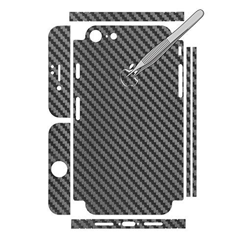 2 x Apple iPhone 7 / 8 Pellicola Protettiva Effetto carbonio grigio - PhoneNatic Pellicole Protettive