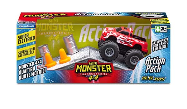 Reel Toys Reeltoys0302 Mini Monster Action Pack: Amazon.es ...