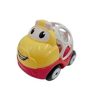 LSQR Infante Puzzle sonaglio 0-3-6-12 Mese 1 Anno Vecchio Bambino educazione precoce Cartoon Giocattolo Scorrevole Auto