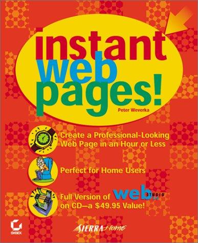Read Online Instant Web Pages! pdf epub