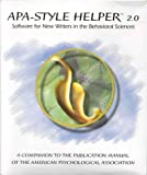 Apa: Style Helper 2.0 : Software for New Writers in The Behavioral Sciences, American Psychological Association Staff, 1557986223