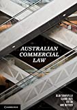 Australian Commercial Law, Thampapillai, Dilan and Tan, Vivi, 1107674573