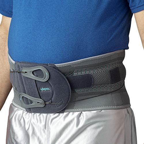 Aspen Elite Active Back Brace, Back Support fits Belly (NOT Waist) Size 35