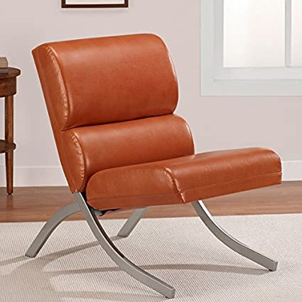 Tremendous Rialto Modern White Green Brown Bonded Leather Chair Includes Scented Candle Tart Rust Alphanode Cool Chair Designs And Ideas Alphanodeonline