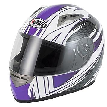 Cascos de motocicleta VCAN V158 para mujer, diseño de Scooter Casco para Moto mujer turismo