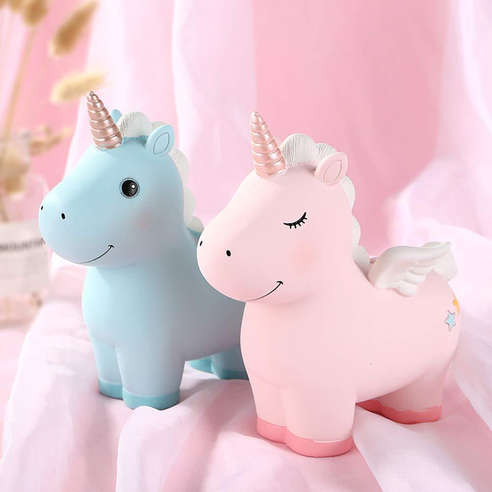 Vosarea Hucha de Unicornio con dise/ño de Dibujos Animados Hucha con Forma de Cerdito