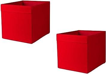 x2 Cath Kidston ROSALI caja de almacenaje para unidad de Ikea expedit DRONA (dos unidades): Amazon.es: Bricolaje y herramientas
