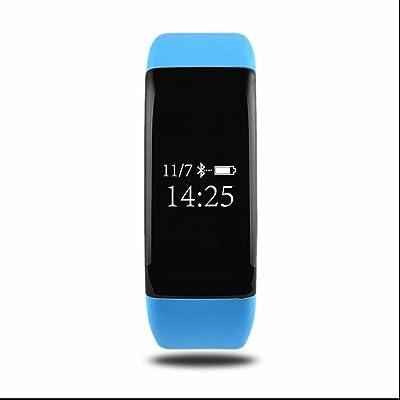 Bracelet Connecté,Tracker d'Activité Intelligente,Anti-lost Message,Podomètres,Sommeil chronomètre,Compteur de Calories,Appareil photo à distance,avec Écran Tactile,Chronomètre