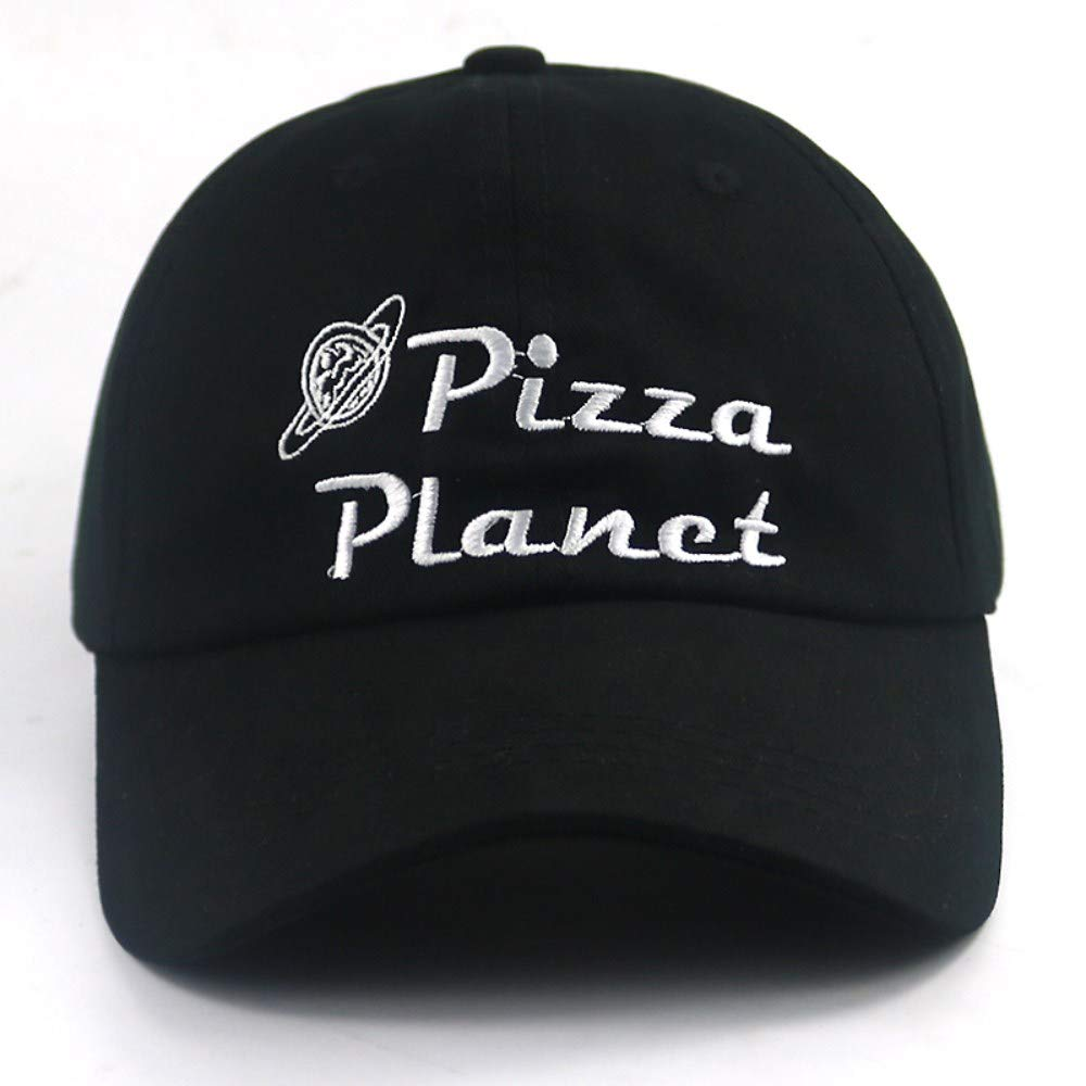 Chlally Znew Unisex Baseball Cap Embroidery Pizza Hat Cotton Baseball Cap Casual Summer Sun Hats Adjustable Fashion Hats