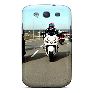 Protector Hard Phone Cases For Samsung Galaxy S3 With Custom High-definition Hayabusa Series AshtonWells