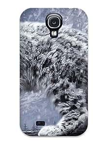 Ivan Erill's Shop 1352587K48057164 Cute High Quality Galaxy S4 Snow Leopard Case