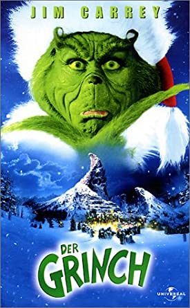 how the grinch stole christmas vhs - How The Grinch Stole Christmas Jim Carrey